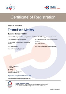 ThermTech has an Achilles certification