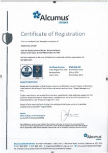 ThermTech has an ISO-9001 certification